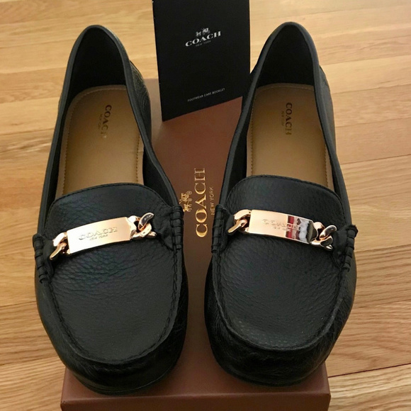 Coach Shoes | Black Loafers Size 11 Womens | Poshmark